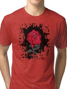 Night Rose Tri-blend T-Shirt
