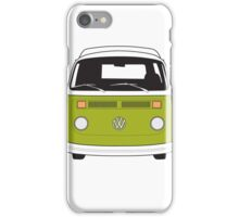 Late Bay VW Camper Green Front iPhone Case/Skin