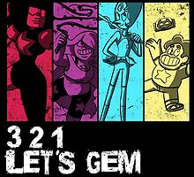 3, 2, 1 Let's Gem by Valhalla Halvorson