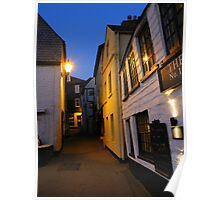 Cornwall: Late Evening in Port Isaac Poster