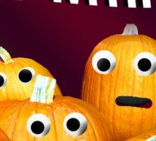 Pumpkins Realizing their Fate T Shirt Sticker