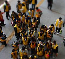 School Excursion, Seoul, South Korea by Gavin Craig