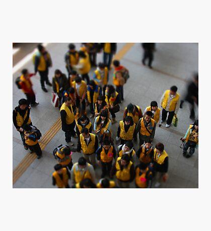 School Excursion, Seoul, South Korea Photographic Print
