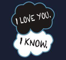 I love you.I know. Kids Clothes
