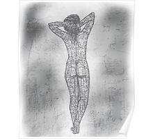 Nude Geometric Poster