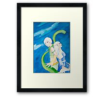 Anime pair Framed Print