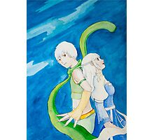 Anime pair Photographic Print