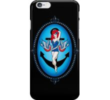 Anchor chick iPhone Case/Skin