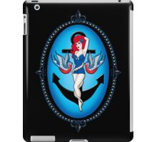 Anchor chick iPad Case/Skin