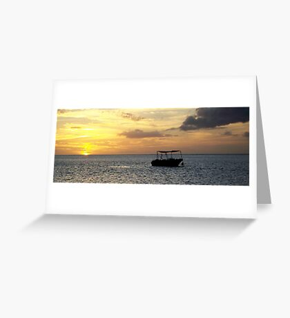 day-is-done Greeting Card