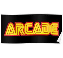Retro Arcade Poster