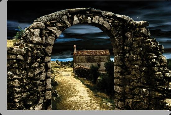 Oblivion gate II by Željko Jelenski