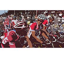 Norwegian Riders before start Photographic Print