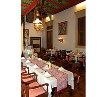 Traditional Javanese Restaurant Photographic Print