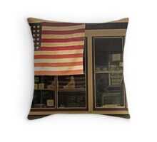 storefront Throw Pillow