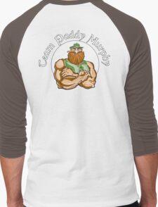 Leprechaun Back Men's Baseball ¾ T-Shirt