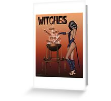 Witches calendar cover Greeting Card