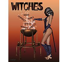 Witches calendar cover Photographic Print