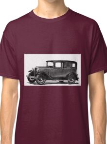 In the end of Night ... arises the Model A Ford ... a legendary car, ideal for illustrated stickers, phone shell etc...  2015  (c)(t) 01 by Olao-Olavia / Okaio Créations Classic T-Shirt