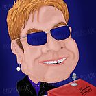 Elton John by Brendan Williams