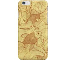 Goldfishes Nr. 2 iPhone Case/Skin
