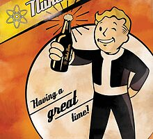 Nuka Beer - Fallout by happyjele
