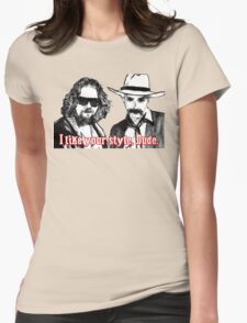 Big lebowski Womens Fitted T-Shirt