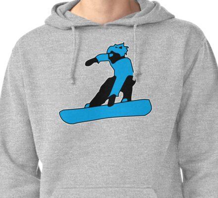Snowboard - Snowboard jump Pullover Hoodie