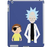 Evil Rick and Morty [PLAIN] iPad Case/Skin
