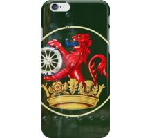 The Railway Lion iPhone Case/Skin