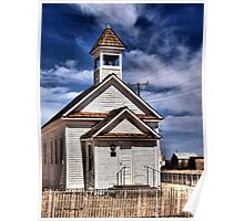 The Little White Church Poster