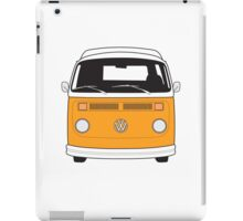 Late Bay VW Camper Orange Front iPad Case/Skin
