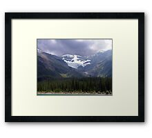Faces of the Rockies Framed Print