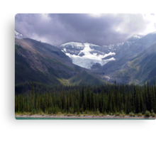 Faces of the Rockies Canvas Print