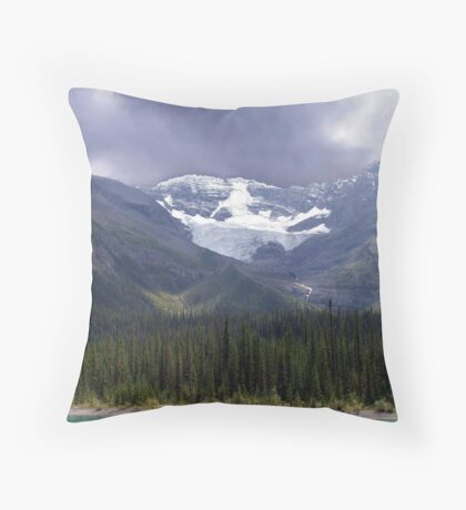 Faces of the Rockies Throw Pillow