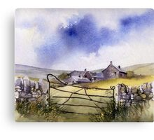 Spring in the Dale Canvas Print