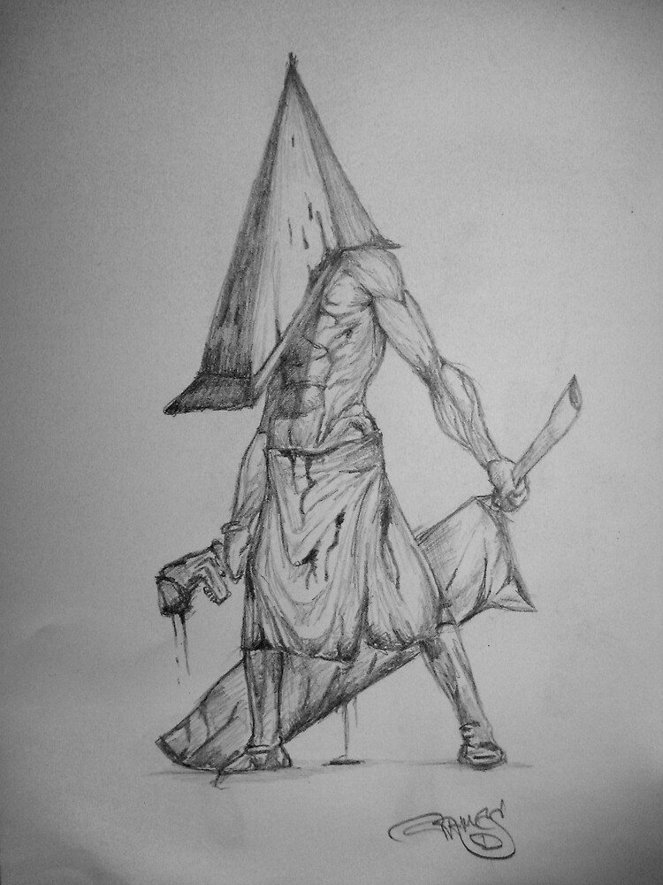 Pyramid Head by iceypricey