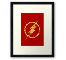 The Flash Framed Print
