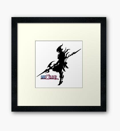 FFXIV-RR - Dragoon Framed Print