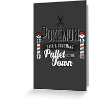 PokeBarber Greeting Card