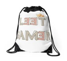 Leet Gamer Drawstring Bag