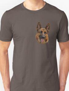 Alsatian-2 T-Shirt