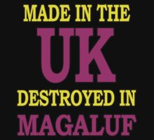 Made in the UK destroyed in Magaluf by aketton