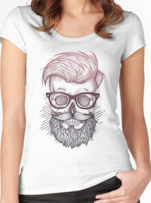 Hipster is Dead Women's Fitted Scoop T-Shirt