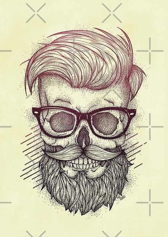 Hipster Is Dead By Mikekoubou Redbubble
