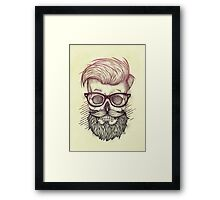 Hipster is Dead Framed Print