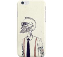 The Gentleman becomes a Hipster iPhone Case/Skin