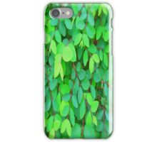 EVE'S GREEN LEAVES - PENCIL SKIRT iPhone Case/Skin