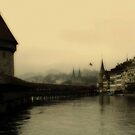 Luzern Bridge by Douglas Madel