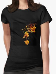 Dead tulips Womens Fitted T-Shirt